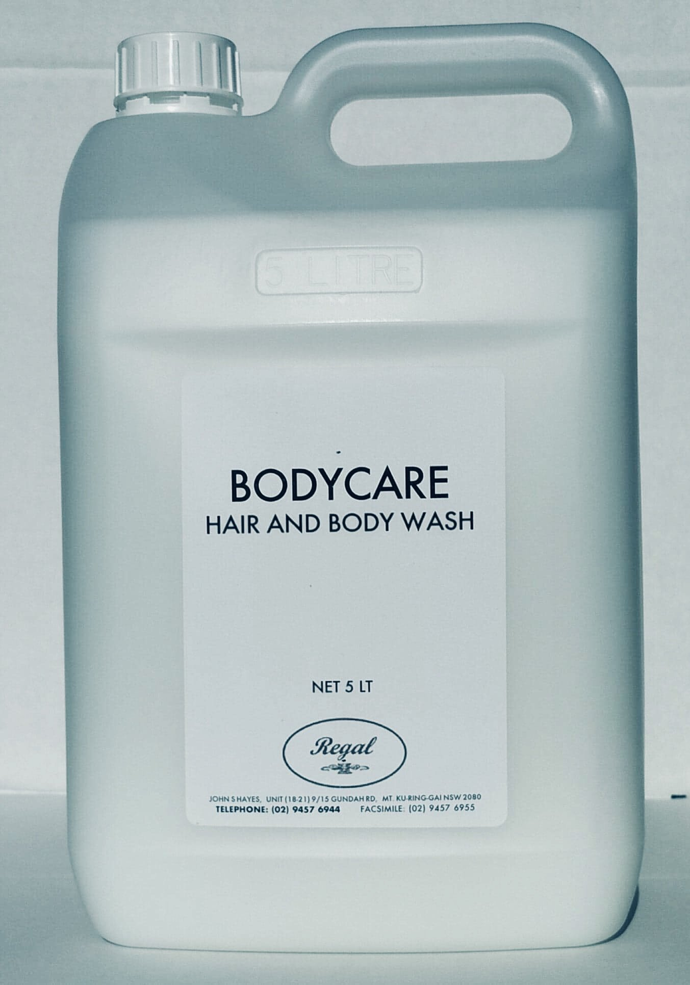 Bodycare Hair & Body Wash 5Ltr