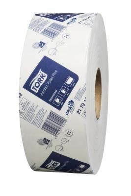 Tork Universal Jumbo Toilet Roll 1 Ply T1 650M 6 Rolls