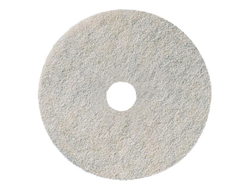 3m 3300 Natural Blend Burnishing Pads White 68cm Each