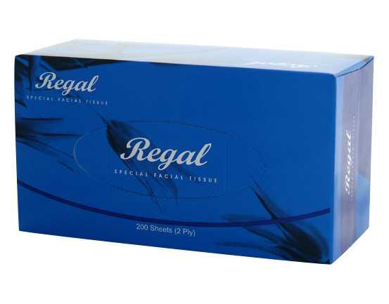 Regal Facial Tissue 2 Ply 200 Sheet 32 Boxes