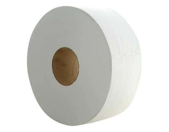 Jumbo Toilet Roll 1Ply 500Mx8Rl Perforated