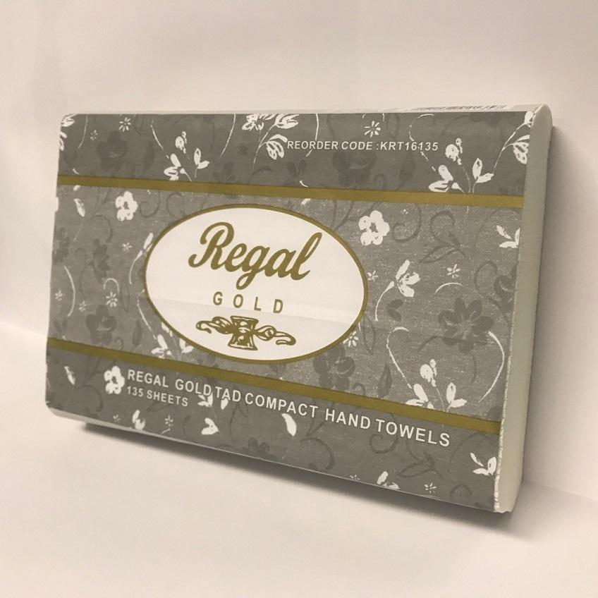Regal Gold TAD Compact Hand Towel 135 sheet 16 packs