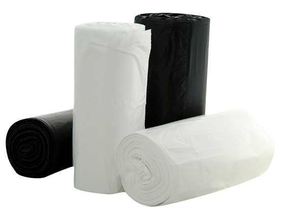 Regal 72Ltr Black Bin Liner Hd Degradable 25/Roll 10 Rolls