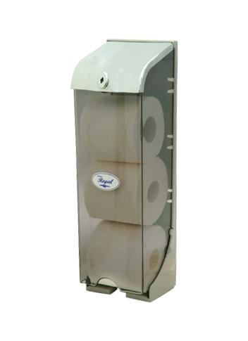Regal Tripleline Toilet Roll Dispenser Plastic Toilet
