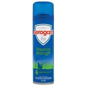 Aerogard Regular Tropical Aerosol 150G 12 Cans - Click for more info