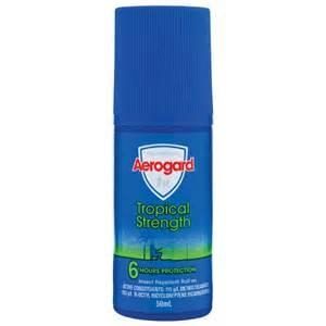 Aerogard Roll On Tropical 72 X 50Ml