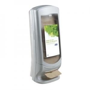 Tork Stand Napkin Grey Dispenser - Click for more info