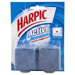 Harpic Foaming Blue Block Twin 114G 6 Packs - Click for more info