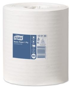 Tork Basic Centrefeed Towel 1 Ply M2 300M 6 Rolls - Click for more info