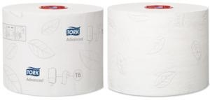 Tork Mid-Size Toilet Roll 2 ply T6 100m 27 rolls - Click for more info