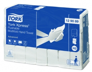 Tork Xpress Flushable Multifold Hand Towel 2 Ply Advanced H2