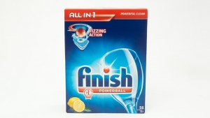 Finish Dishwasher Tablets All In One Lemon 14 Tablets 16 Pkt