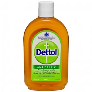 Dettol Antiseptic Liquid 500Ml 6 Bottles - Click for more info