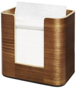 Tork Xpressnap® Napkin Dispenser - Walnut