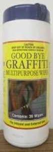 Graffiti Wipes Cannister 400Gm (35 Wipes)