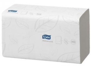 Tork Advanced Hand Towel Singlefold H3 250 Sheet