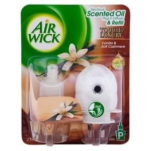 Airwick Elec Diffuser, Vanilla & Soft Cashmere Prime - Click for more info