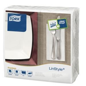 Tork Linstyle Wht Dinner Npk 8F 50X12 - Click for more info