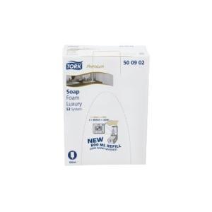 Tork Luxury Soft Foam Soap S3 800Ml X 4