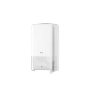 Tork Twin Mid-Size Toilet Roll Dispenser T6 White - Click for more info