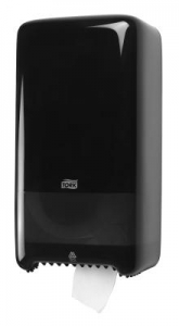 Tork Dispenser, Compact Roll, Black - Click for more info