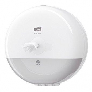 Smartone Mini Toilet Roll Dispenser White T9 - Click for more info