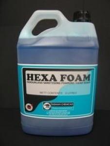 Hexa Foam Blue Hand Soap 5Lt Aqis