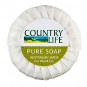 Country Life Pleat Wrapped Soap 20Gm X400 - Click for more info