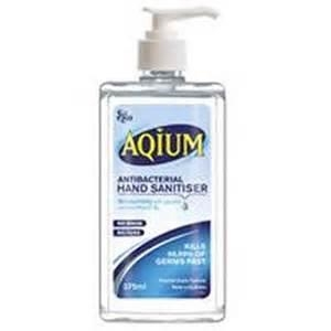 Aquim X 375Mls Hand Sanitiser - Click for more info