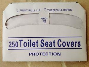 Toilet Seat Cover 250X20 Half Fold
