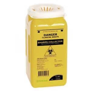 Metal Sharps Container - Click for more info