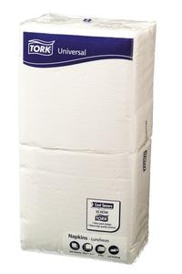 Tork Luncheon Napkin 1 ply White 250 sheet 8 packs - Click for more info