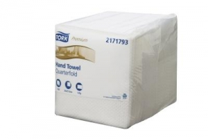Tork Quarterfold Guest Hand Towel 100 Sheet 4 Packs
