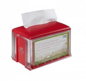 Tork Xpressnap Disp T/Top 41Xpt Red N4 - Click for more info
