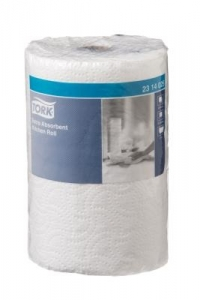 Tork Extra Absorbent Kitchen Roll 2 ply 120 sheet 8 rolls - Click for more info