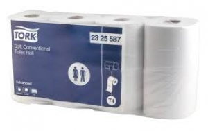 Tork® Conventional Toilet Roll 700sh 8pk