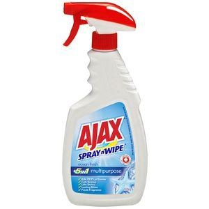 Ajax Spray & Wipe Ocean Fresh Trigger 500Ml 8 Bottles - Click for more info