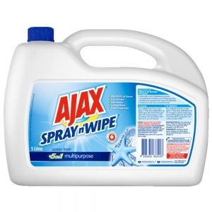 Ajax Spray & Wipe Ocean Fresh 5Ltr 2 Bottles - Click for more info