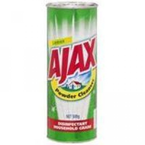 Ajax Powder Lemon 500G 9 Cans - Click for more info