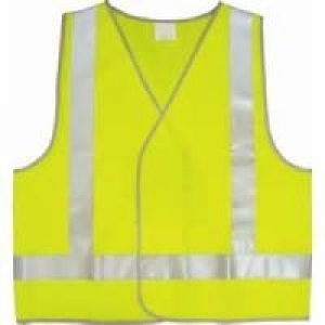 Yellow Safety Vest Medium - Click for more info