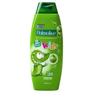 Palmolive 3 In 1 Kids Happy Apple Shamoo / Conditioner 350Ml