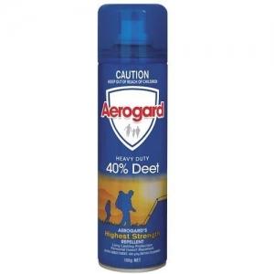 Aerogard 40% Deet Aerosol 150G 8 Cans - Click for more info