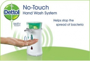 Dettol No Touch Automatic Handwash System 2 pack - Click for more info