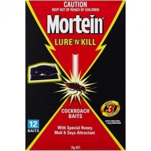 Mortein Lure N Kill C/Roach Baits