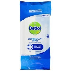 Dettol Surface Wipes Fresh 120'sx4