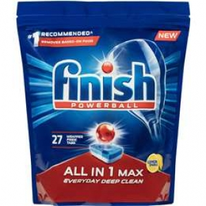 Finish All In 1 Max Lemon Tablet 27'S X 6 - Click for more info