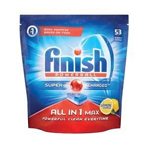 Finish All In 1 Max lemon Tablets 53 x 5 pkts - Click for more info