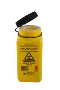 Sharps Container 1.4Ltr - Screw Top