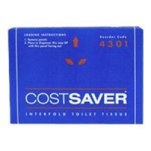 Cost Saver Interfold Toilet Tissue