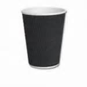 4oz Charcoal Triple Wall Corrugated Cup Ctn/500 - Click for more info